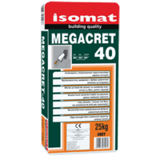 Megacret 40 Fast 25Kg